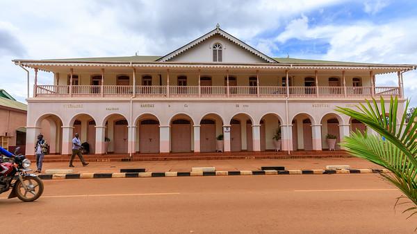 Madhvani House, legacy of indian architecture in Jinja, Uganda