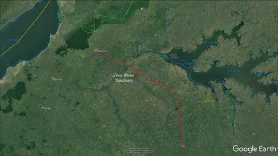 Murchison Falls Nationalpark, Nwoya District, Uganda