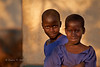School chums, afternoon light. Jinja District, Uganda