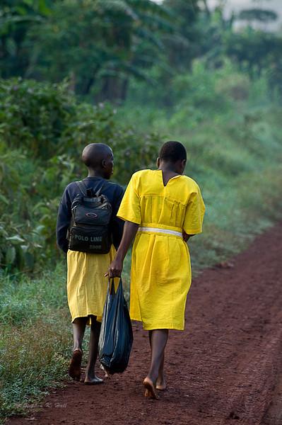School day. Bujagali, Uganda