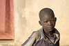 Young Acholi boy, refugee (IDP) resettlement camp, northern Uganda