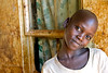 Young girl, orphaned by AIDS. Mafubira, Uganda