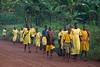 Classmates, morning walk to school