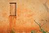 Window and fence, morning. Bujagali Falls, Uganda