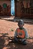Idle afternoon, young village Ghandi. Jinja district, Uganda