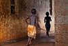 The chase, boys at play. Agape Children's Home. Mafubira, Uganda