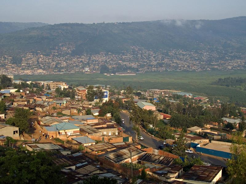 Kigali, Rwanda.  I came to Kigali to watch President Obama's inauguration and get my gorilla permit.
