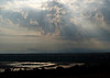 Salt deposits, Queen Elizabeth NP, Uganda