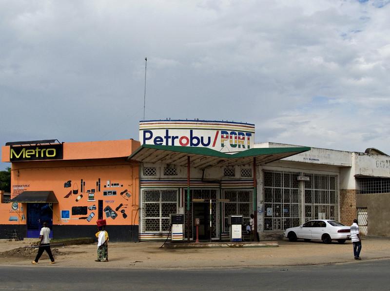 Gas station, Bujumbura, Burundi
