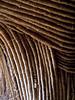 Traditional building detail, royal enclosure, Gishora, Burundi
