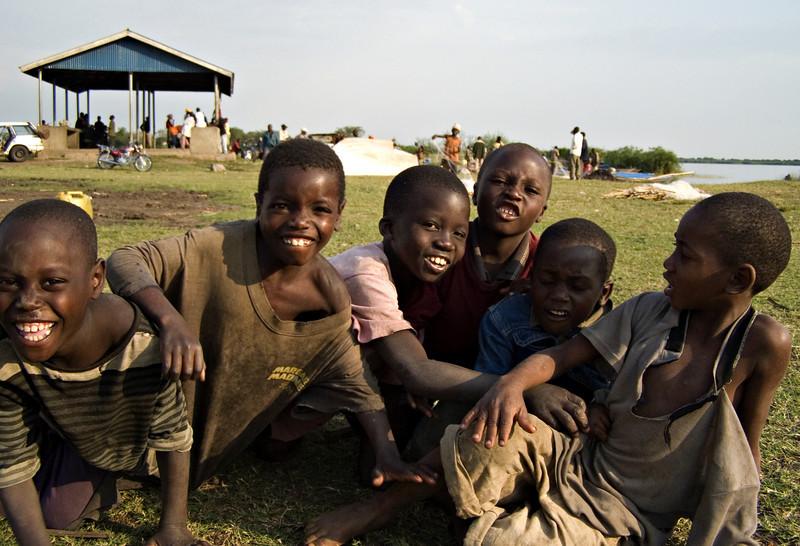 Kids, Queen Elizabeth NP, Uganda