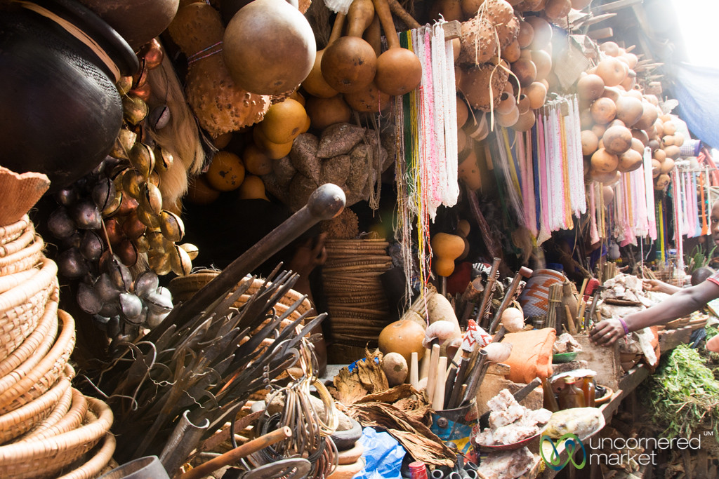 Traditional Medicine at Owino Market - Kampala, Uganda
