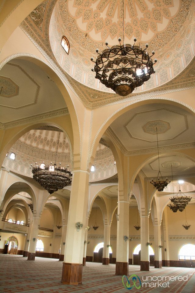 Inside Gaddafi Mosque - Kampala, Uganda