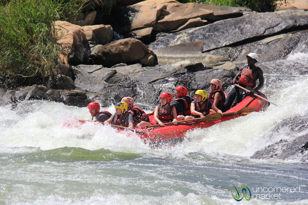 White Water Rafting Down Nile River - Jinja, Uganda