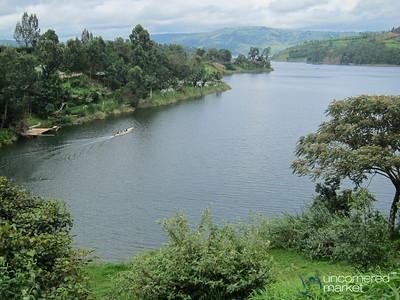 Our Campsite at Lake Bunyonyi, Uganda