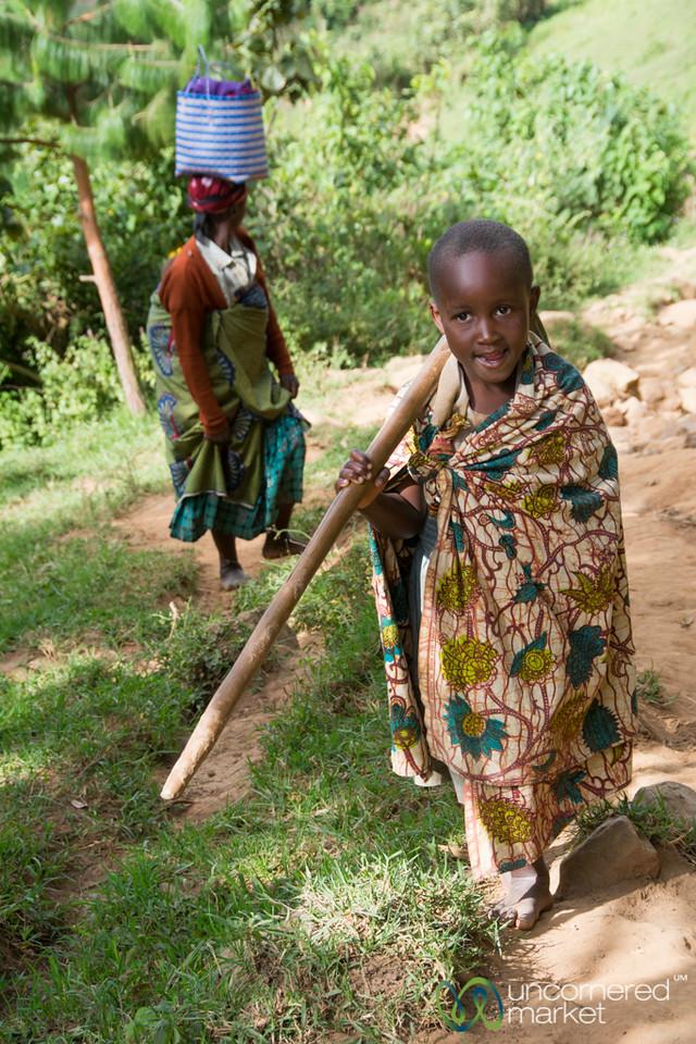 Young Farmer - Bwindi, Uganda