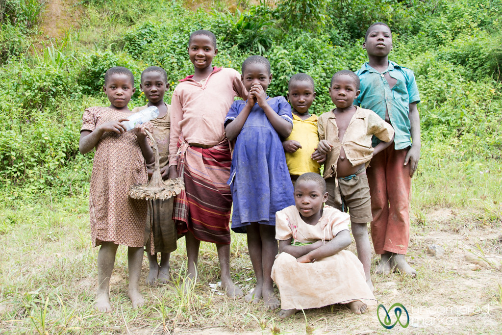 Ugandan Kids at Bwindi National Park