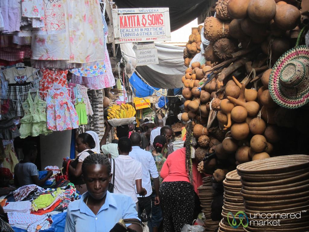 Owino Market, Small Alleys - Kampala, Uganda