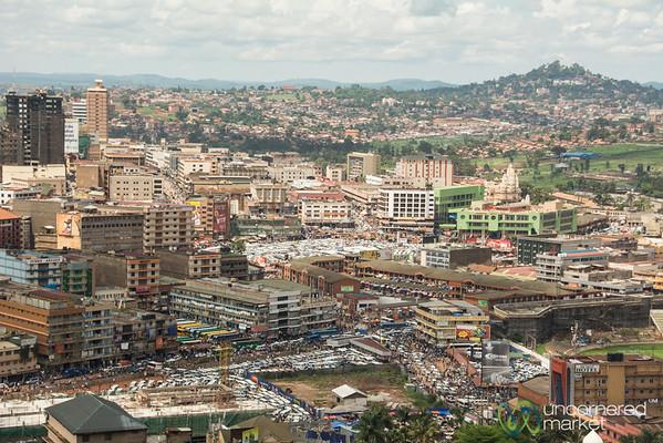 Kampala City Skyline - Uganda