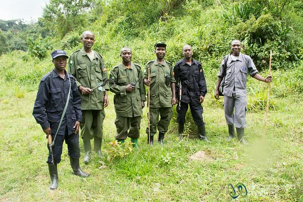 Gorilla Trekking Guide, Scouts and Trackers - Bwindi, Uganda