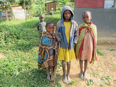 Ugandan Kids Greet Us Before Gorilla Trekking - Bwindi National Park, Uganda