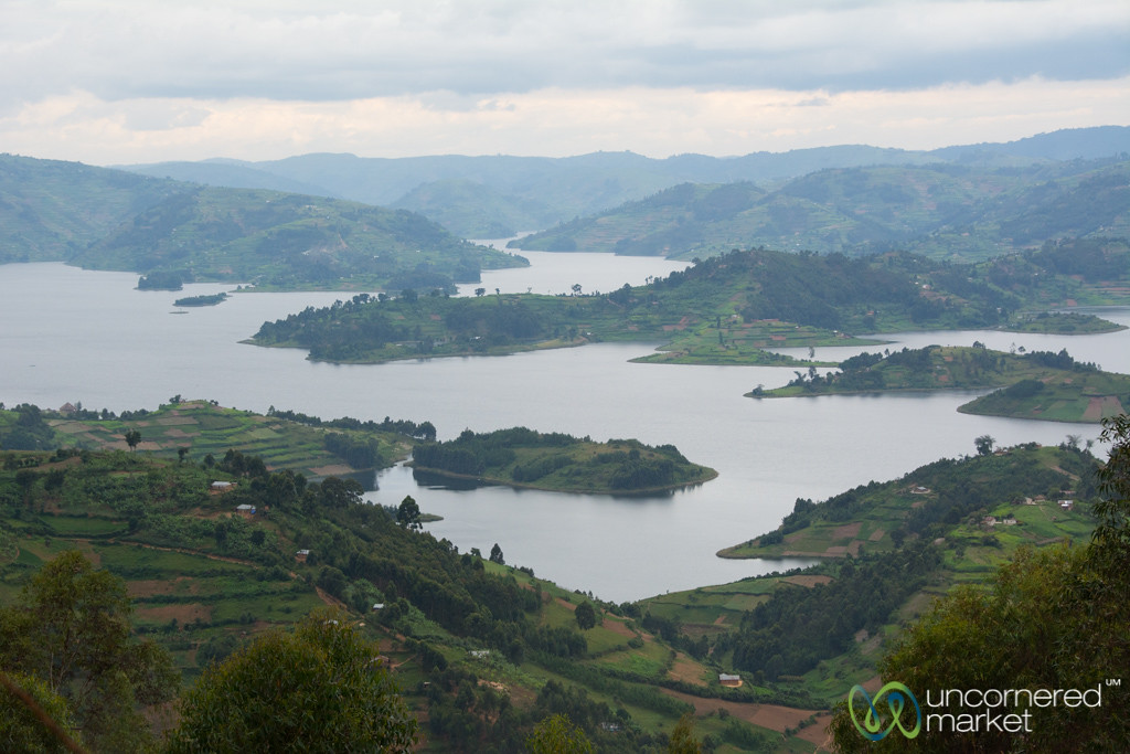 Islands and Hills of Lake Bunyonyi, Uganda