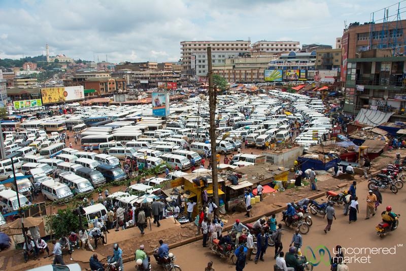 Kampala's Crazy Bus Park - Uganda