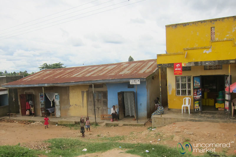 Typical Ugandan Street Scene