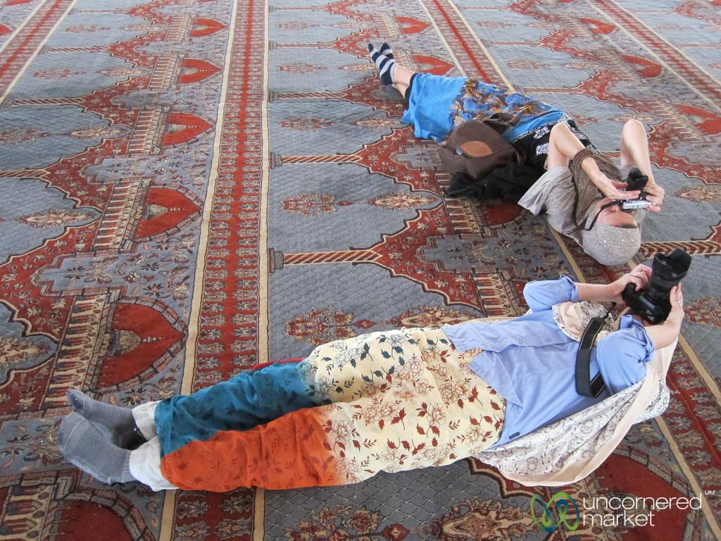Photography Gymnastics in Gaddafi Mosque - Kampala, Uganda