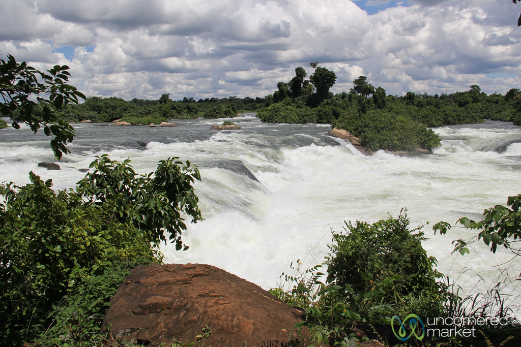 Nile River Falls and Rapids - Jinja, Uganda