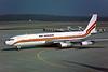"5X-JEF Boeing 707-379C ""Dairo Air Services"" c/n 19821 Geneva/LSGG/GVA 09-03-96 ""RKA titles"" (35mm slide)"
