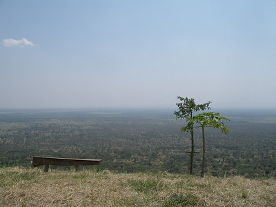 the plains of queen elizabeth national park, uganda