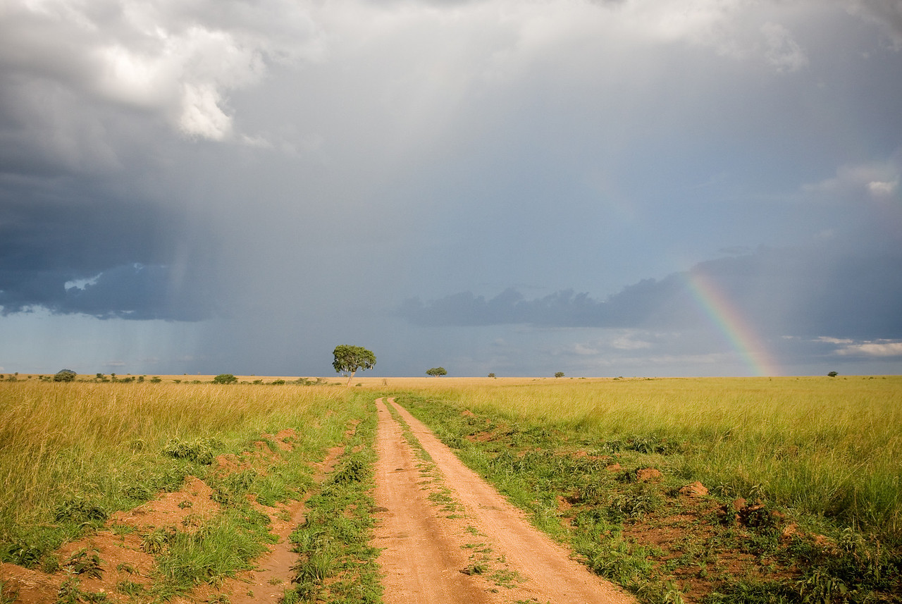 With rain comes rainbows.<br /> <br /> Location: Kidepo Valley National Park, Uganda<br /> <br /> Lens used: 24-105mm f4.0 IS