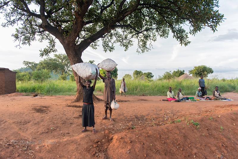 Villagers, Sunday evening