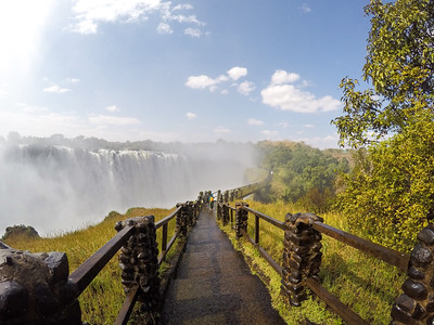 Knife-Edge Bridge at Victoria Falls