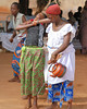 The fundamental of Voodoo is the manifestation of the spirit world through the channel of a human being. It is necessary for the participant to be in a trance-like state to receive the spirits. This is induced by excitation brought on through the rhythm of dance, chanting and drums, especially the Voodoo drum called TAMBOULA.