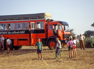 Rotel-Bus in Niger