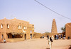The mosque of Agadez is one of the highest mud buildings anywhere.