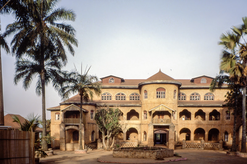 Foumban Royal Palace. Historically importatnt for the establishment of Cameroon as a state, but also for the cultral development.