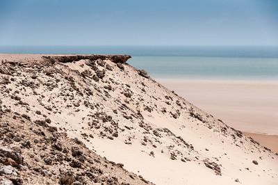 Desert in Dakhla, Western Sahara