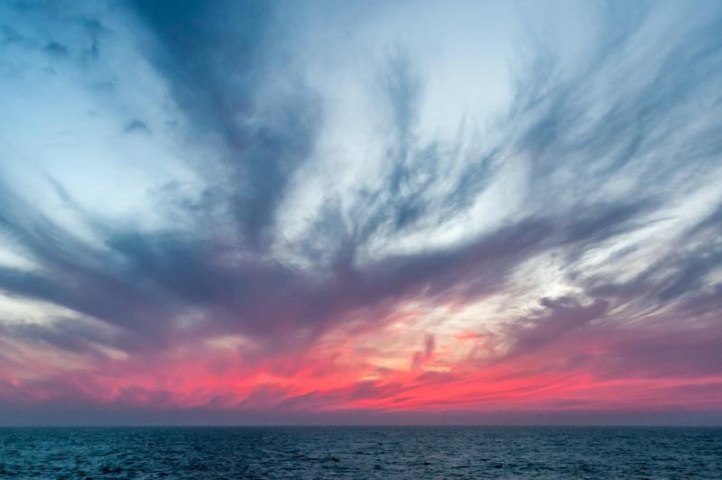 Sunset in Dakhla, Western Sahara