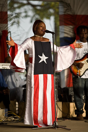 Celebrations for Liberian Presidents first year