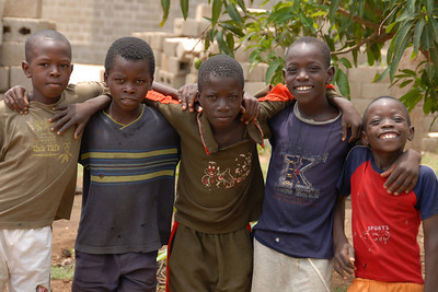 Jonathan's neighbors...they loved posing for the camera!...