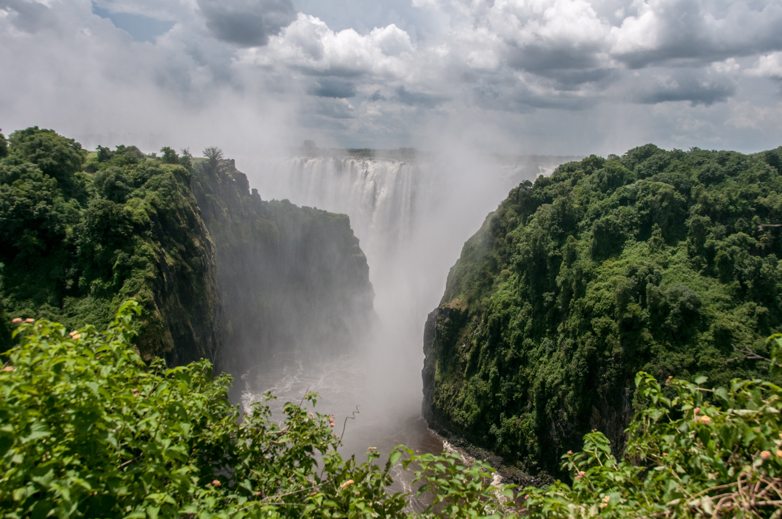 Zambia Waterfall by Gary Arndt