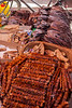 Dried seafood, Darajani Market, Stone Town,  Zanzibar, Tanzania, Africa.  March 2008