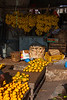 Fruit vendor, Darajani Market, Stone Town,  Zanzibar, Tanzania, Africa.  March 2008