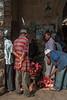 Darajani Market, Stone Town,  Zanzibar, Tanzania, Africa.  March 2008