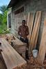 Woodworker, Zanzibar, Tanzania, Africa. March 2008