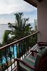Standard room balcony, Zanzibar Serena Hotel, Stone Town, Zanzibar, Tanzania, Africa.  March 2008