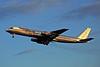 """Z-WMJ Douglas DC-8-55F """"Affretair"""" c/n 45821 Amsterdam/EHAM/AMS 30-11-96 (35mm slide)"""
